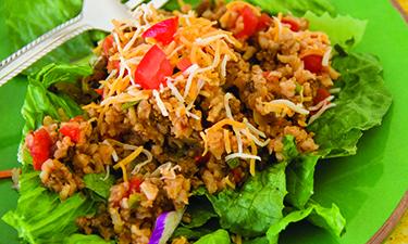 Taco Salad Recipe Rice
